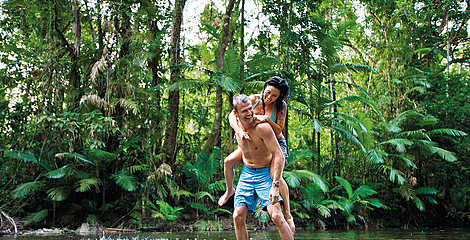 Daintree Rainforest piggyback