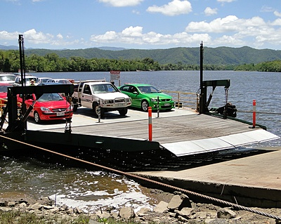Daintree Ferry Landing on North Margin