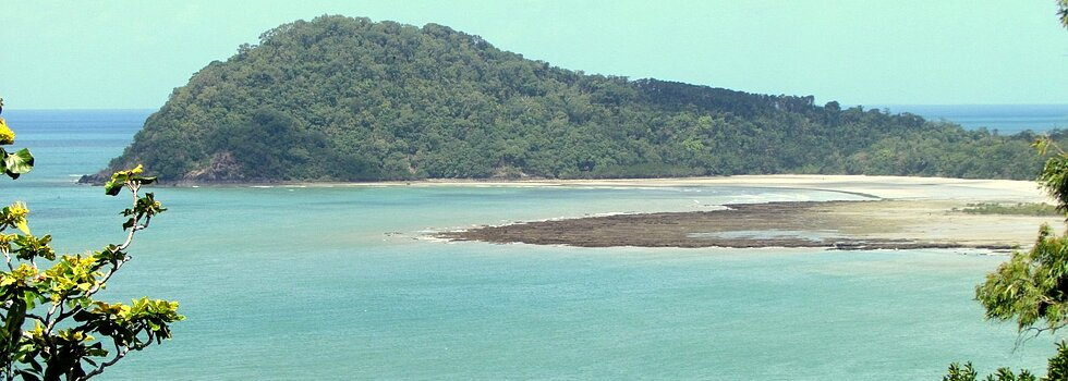Cape Tribulation from Bloomfield Track