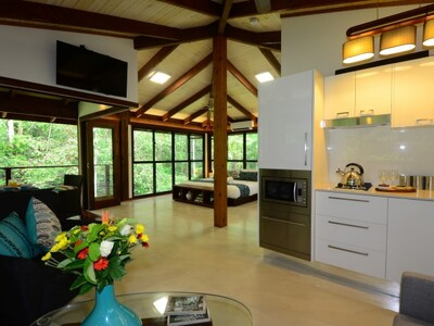 Self contained cabins and apartments destination for Self contained cabin