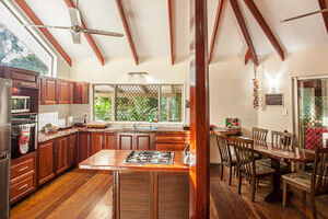 Daintree Secrets kitchen and dining