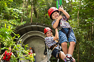 Fun for all ages - Jungle Surfing Canopy Tours