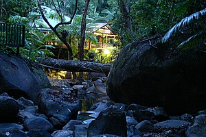 Evening creek view - Daintree Secrets