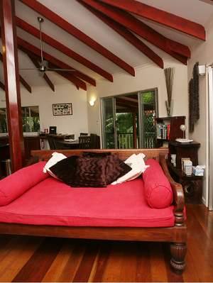 Indonesian day bed - Daintree Secrets