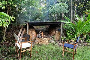 Cosy campfire - Daintree Seascapes