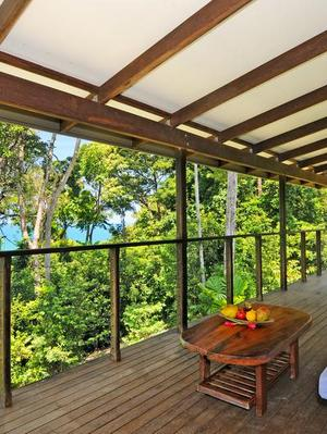 Front verandah - Daintree Seascapes