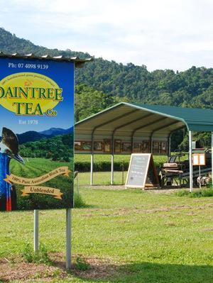 Daintree Tea roadside self-serve store