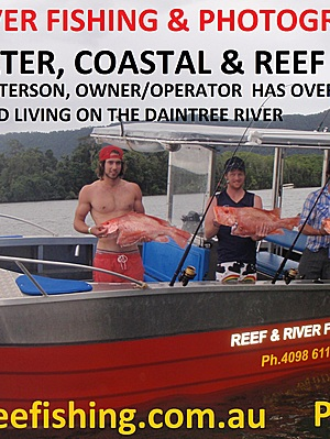 Daintree River Fishing & Photography Tours - Business Card