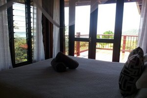 Views from the bedroom - Cape Tribulation Sanctuary