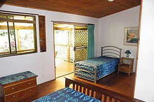 Cabin interior - Epiphyte B&B