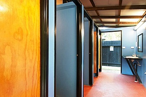 Modern facilities  wiht hot showers at Cape Tribulation Camping