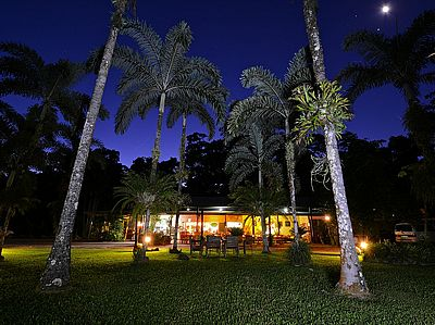 Lync Haven Rainforest Retreat Motel, camping and wildlife