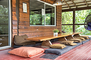 Balcony - Prema Shanti Yoga and Meditation Retreat
